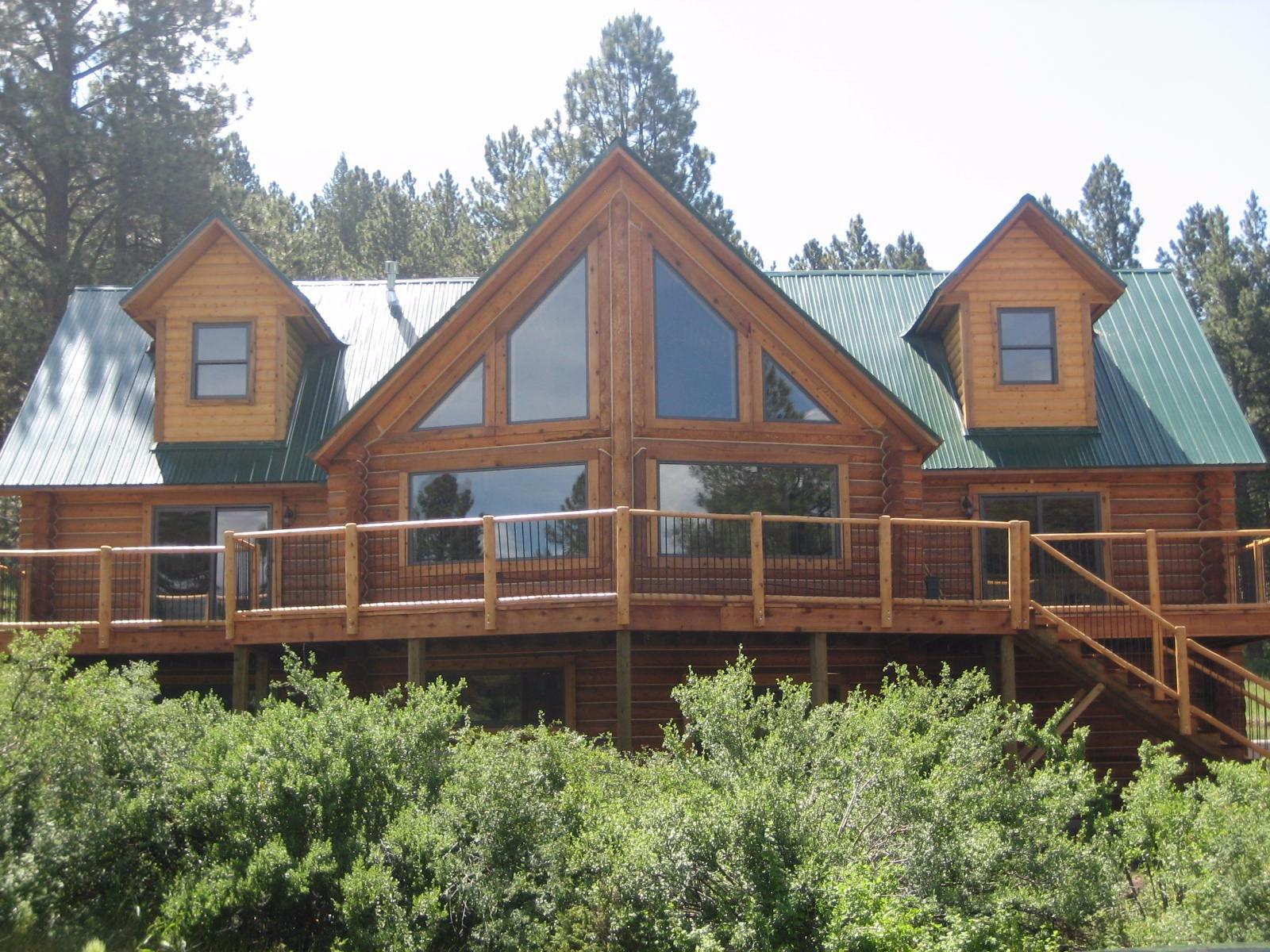 The Kavanaugh's Log House.